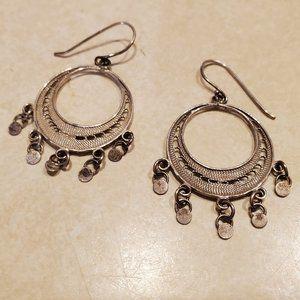 Banana Republic Sterling Silver Dangle Earrings